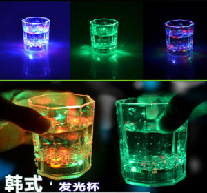 Colorful Changing Party Carnival LED LED Plastic Flashing Lamp Cup