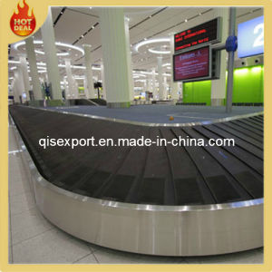 Oval Curve Ep Airport Luggage Conveyor Belt for Sale pictures & photos