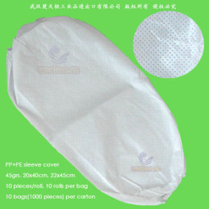 Disposable PP+PE Sleeve Cover pictures & photos