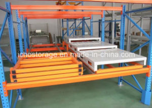 Push Back Racking Storage Warehouse Safety Rack pictures & photos