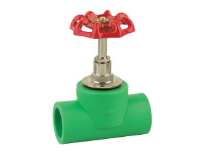PPR Stop Valve with Iron Handle or Plastic Handle pictures & photos
