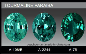 Synthetic Tourmaline Paraiba for Jewelry