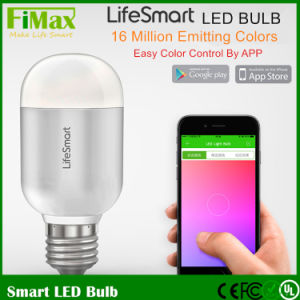 Smart Home Product Smart LED Bulb WiFi Bulb Color Control