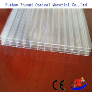 Zhuoni Multi-Wall Transperant Polycarbonate (PC) Sheet with UV Protection