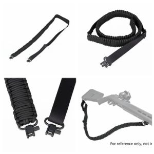 Military Weapon Hunting Rifle Adjustable Double Point Gun Sling Cl13-0053 pictures & photos