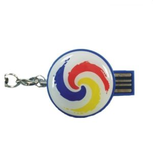 Promotion Gift Epoxy USB Drive with Custom Logo pictures & photos