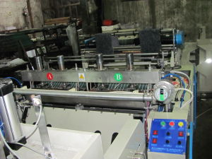 Full Automatic T-Shirt Bag Making Machine pictures & photos