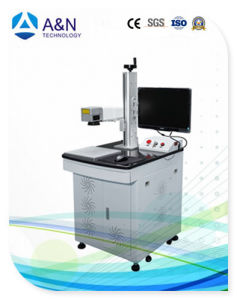 A&N 50W IPG Optical Fiber Laser Engraving Machine for metal