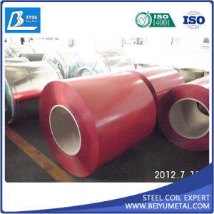 Roofing PU Material Prepainted Galvalume Color Coated Steel Coil pictures & photos