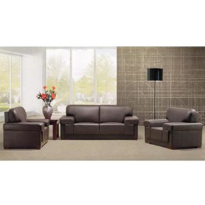 Different Style Office Furniture Lounge PU Leather Sofa