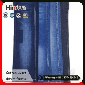 Cotton Denim Shirt Fabric Slub Jean Fabric with Mercerized pictures & photos