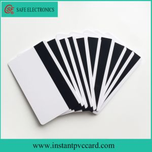 Inkjet Printable PVC Magnetic Strip Card pictures & photos