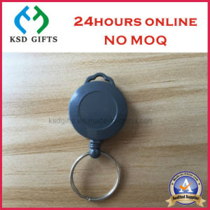 Custom Retractable Plastic Yoyo Badge Reel Lanyard Business ID Card Holder pictures & photos