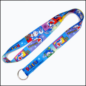 Fashionable Design Dye Sublimation//Heat Transferred Logo Custom Lanyard for Graduates pictures & photos