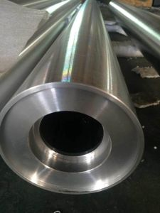 Rubber Coated Plated Coating Aluminum aluminium Roller/Rolls for Belt Conveyor pictures & photos