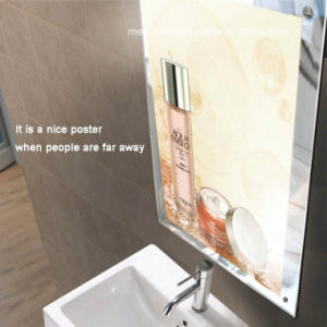 Single Sided Magic Mirror Acrylic Frame LED Advertising Light Box pictures & photos