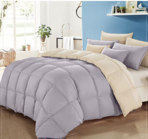 400 Tc Matching Color White Goose Down Comforter Quilts Duvet