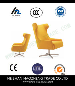 Hzmc159 Yellow - Leisure Chair Cloth Art Leisure Metal Chair