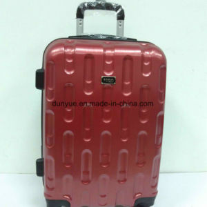 "New Design Two Side Different Colour 20"", 24"", 28"" PC Material Hard Cover Luggage Case, Custom Make Low MOQ Trolley Bag"