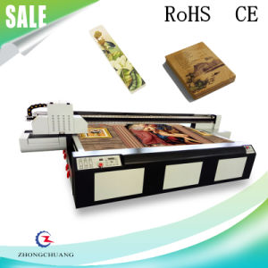 2017 New PVC/Plywood/Eco-Wood/Panel Printing Machine UV Flatbed Printer