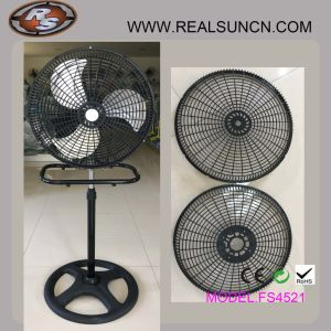 18inch Stand Fan with Plastic Grill-Top Selling in South America pictures & photos