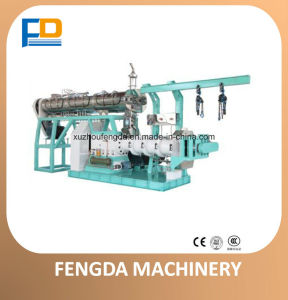 Single Screw Steam Extruder (EXT225SOY-E) for Feed Processing Machine