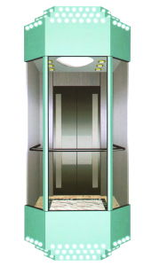 Low Price Sightseeing Elevator or Panorama Lift with Glass pictures & photos