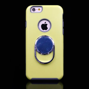 2 Colors Mobile/Cell Phone Cases with Matel Holder for iPhone