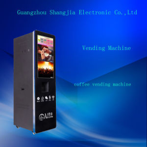 Automatic Cup Falling Intelligent Management Coffee Vending Machines
