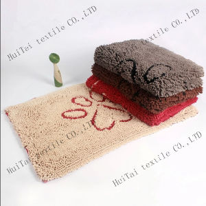 High Pile Microfiber Soft Bathroom Mat