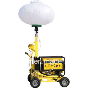 Wacker Design Portable Mobile Light Tower with Hand Push pictures & photos