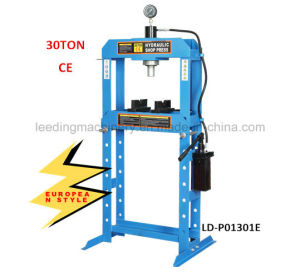30ton Hydraulic Shop Press with Gauge European Style pictures & photos
