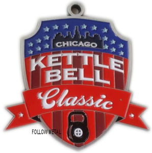 Award Medal for Kettle Bell Classic, Chicago. Die Casting