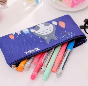 Nylon Fabric Pencil Bag with Zipper pictures & photos