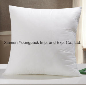 "Wholesale High Quality 18"" White Square Polyester Fiber Cushion Inners for Pillows pictures & photos"
