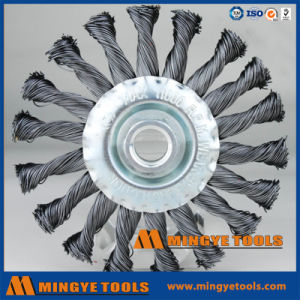 Circular Twisted Knot Wire Wheel Brush