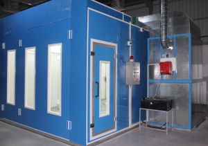 Luxury Dry Spray Booth with Turbo Fan