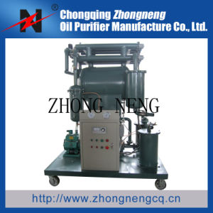 Single-Stage Vacuum Insulating Fluids Purifier, Small Oil Filter Machine with Cover pictures & photos