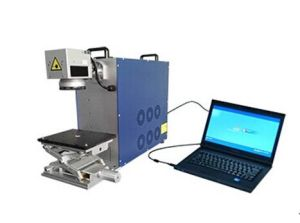 Mini 30W /20W Fiber Laser Marking Machine for Metal and Plastic pictures & photos