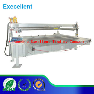 Four Pillars Bedplate Mobile Screen Printing Machine