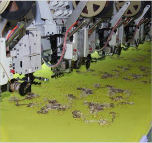 Coiling and Sequin Embroidery Machine