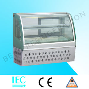 Refrigerated Counter Top Displayer for Cake and Snack pictures & photos