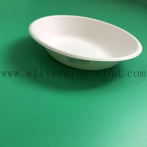 Biodegradable Compostable Sugarcane Pulp Paper Bowl 460ml pictures & photos