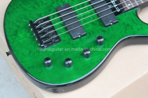 Hanhai Music / 5-String Jasper Modulus Electric Bass Guitar with Alder Body pictures & photos