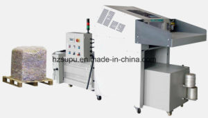 Industrial Paper Shredder with Hydraulic Baler pictures & photos