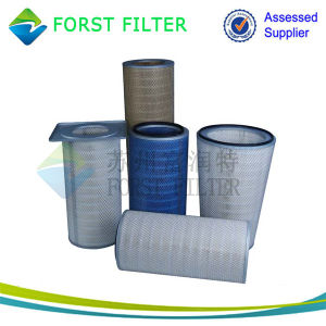 Forst Three Lugs Flange Industry Pleated Filter Cartridge pictures & photos
