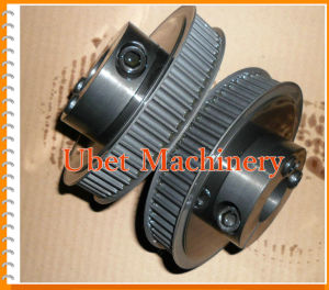 Flanged Custom Timing Belt Pulleys with Clamping Collar pictures & photos