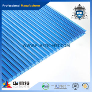 UV Coated Polycarbonate Sheet Two Layer Wall pictures & photos