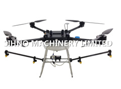 Ty-D10L Multi-Rotor Battery Powered Uav/Eppo Unmanned Aerial Vehicle Uav for Crop-Dusting