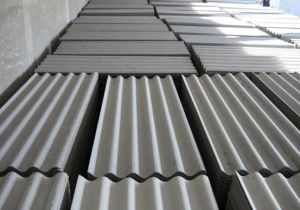 China 100 Non Asbestos Fiber Cement Roof Sheets With